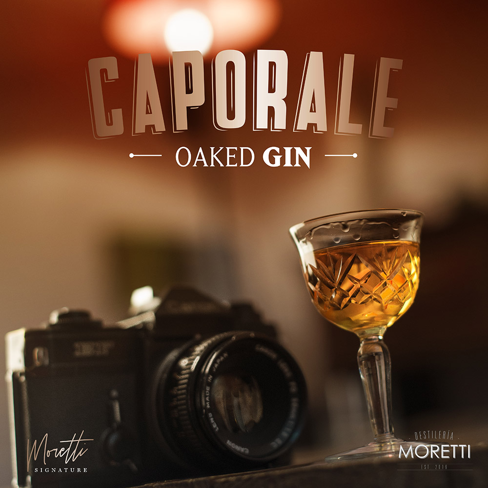 Caporale Oaked Gin